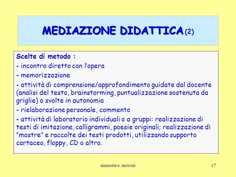 MEDIAZIONE DIDATTICA (2)