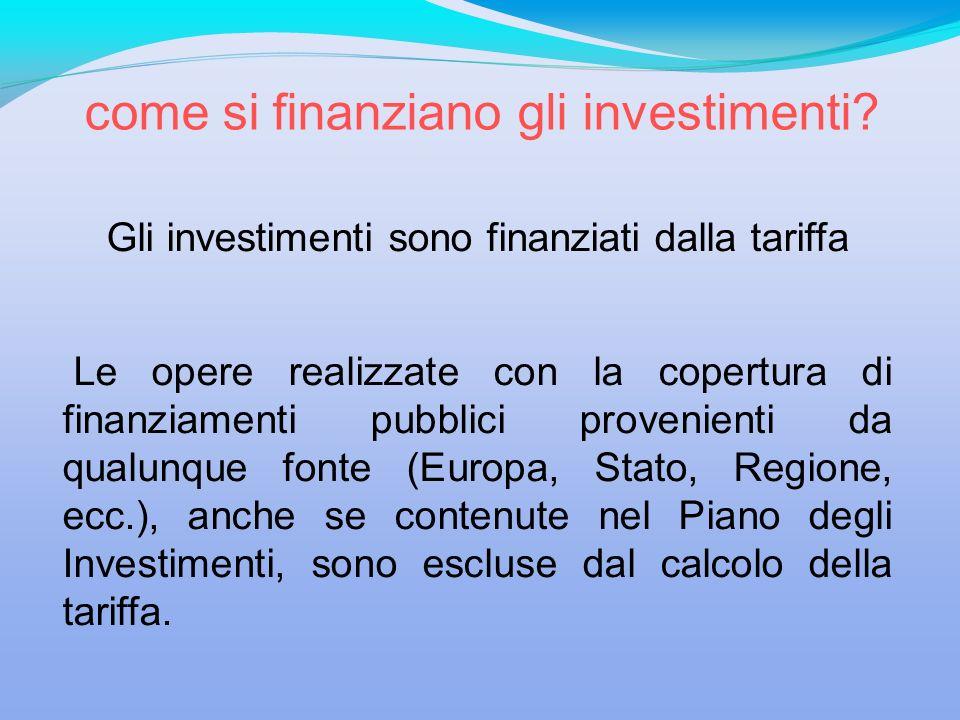 come si finanziano gli investimenti