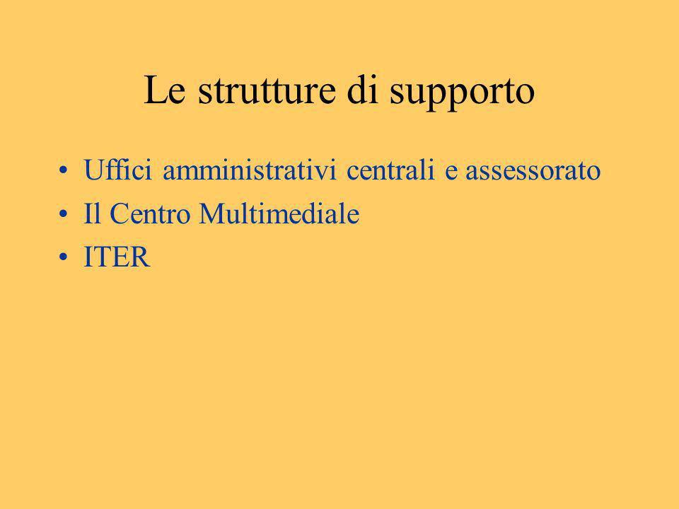 Le strutture di supporto