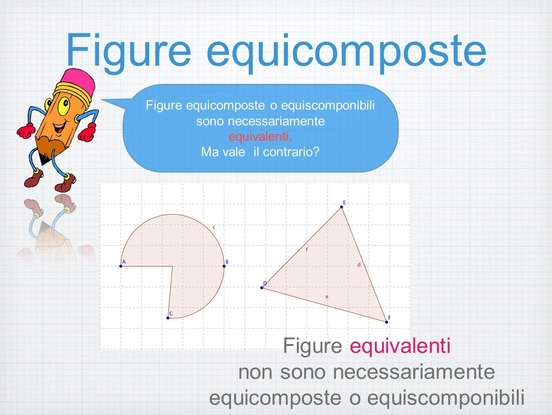Figure equicomposte Figure equivalenti