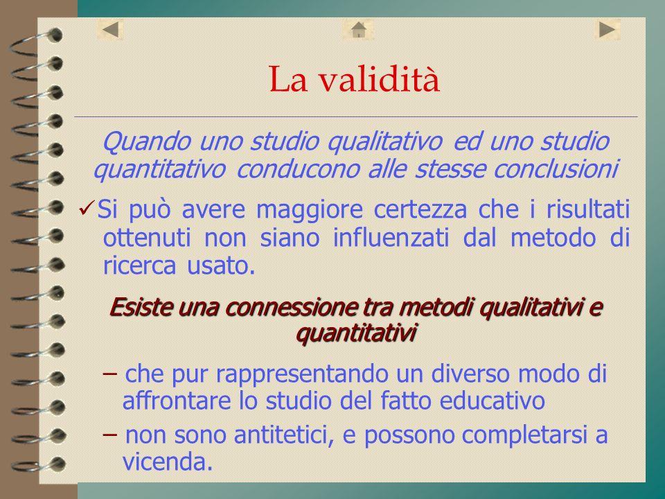 Esiste una connessione tra metodi qualitativi e quantitativi