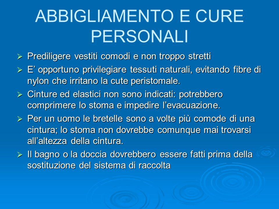 ABBIGLIAMENTO E CURE PERSONALI