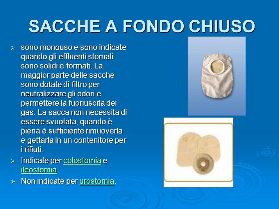 SACCHE A FONDO CHIUSO