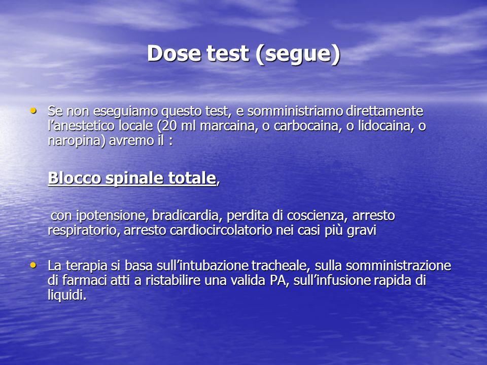 Dose test (segue)