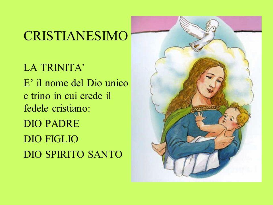 CRISTIANESIMO LA TRINITA'