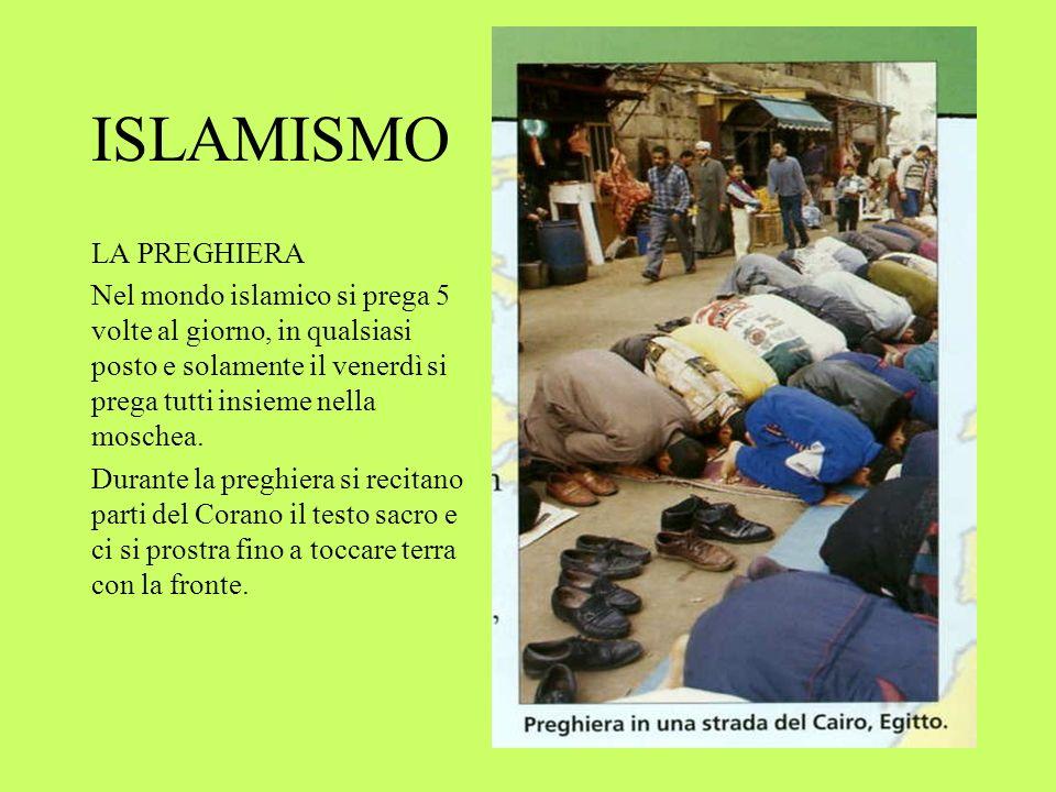 ISLAMISMO LA PREGHIERA