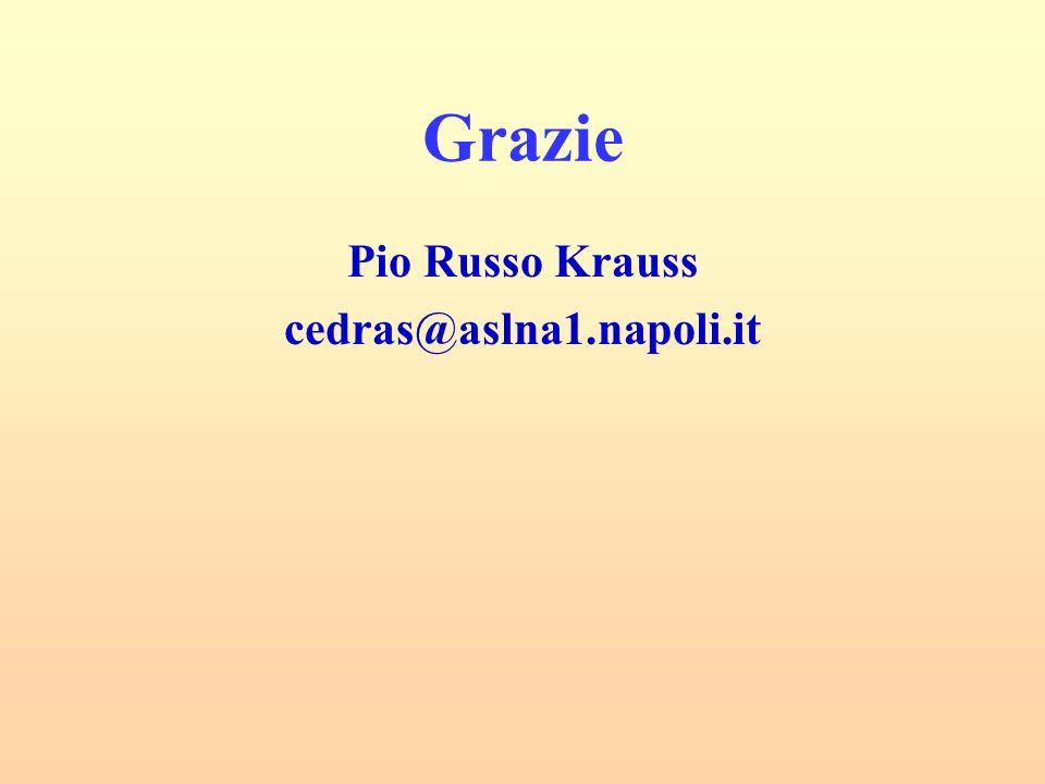 Grazie Pio Russo Krauss cedras@aslna1.napoli.it