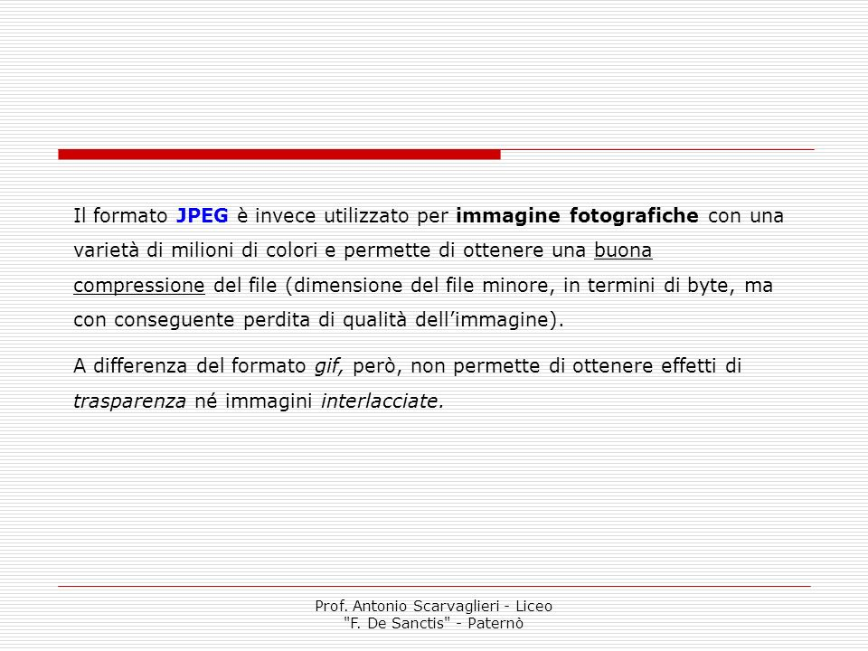 Prof. Antonio Scarvaglieri - Liceo F. De Sanctis - Paternò