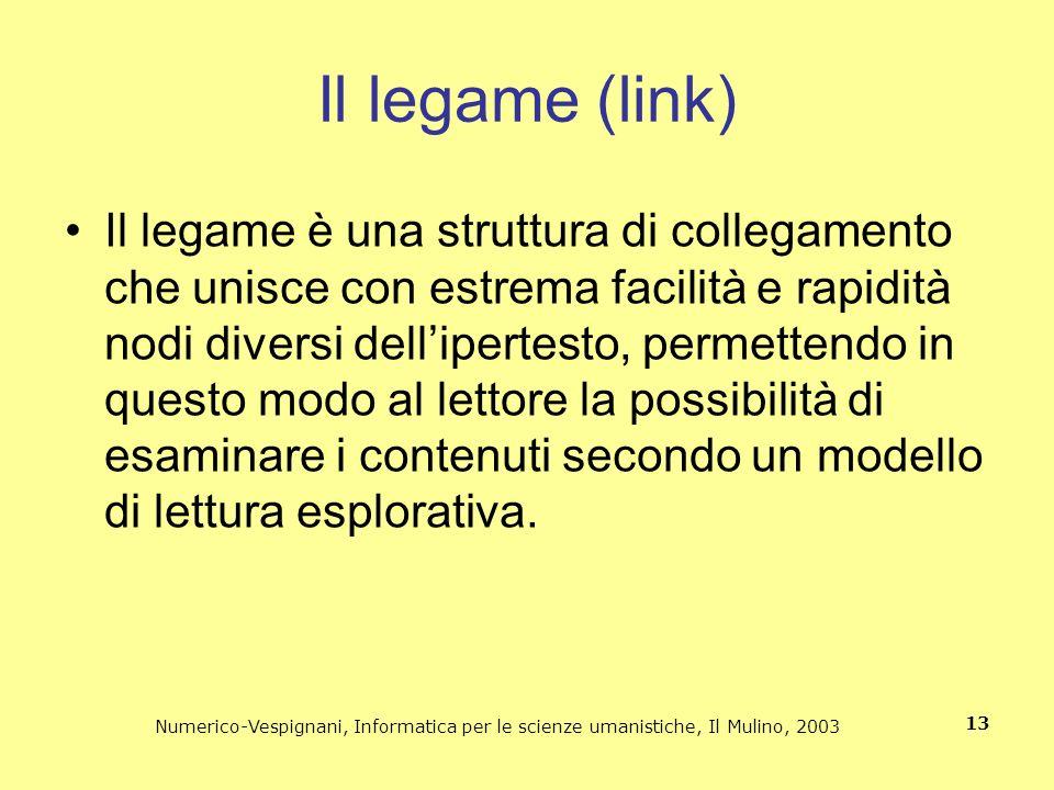 Il legame (link)