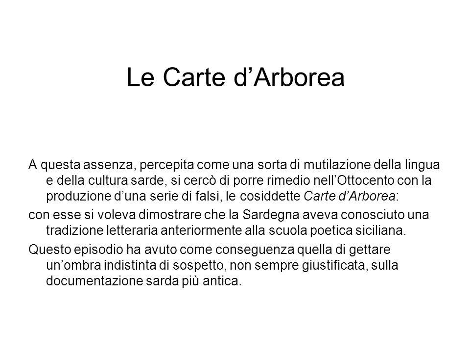 Le Carte d'Arborea