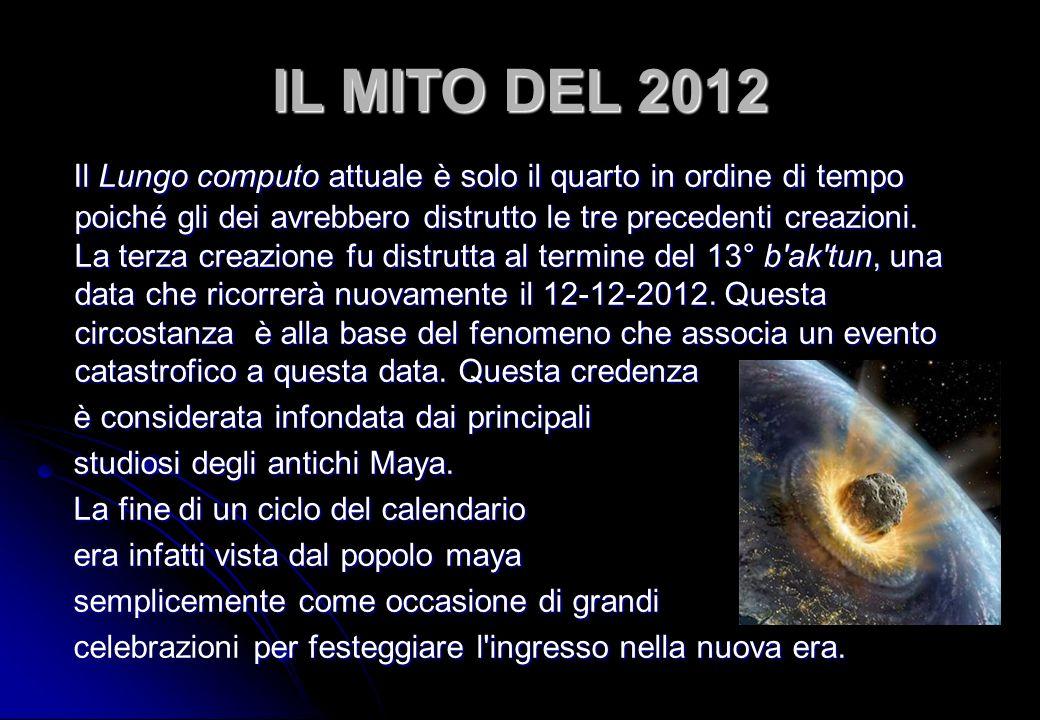 IL MITO DEL 2012