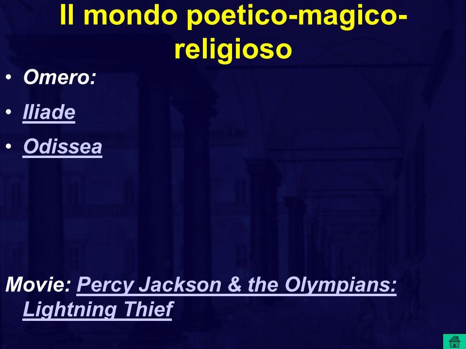 Il mondo poetico-magico- religioso