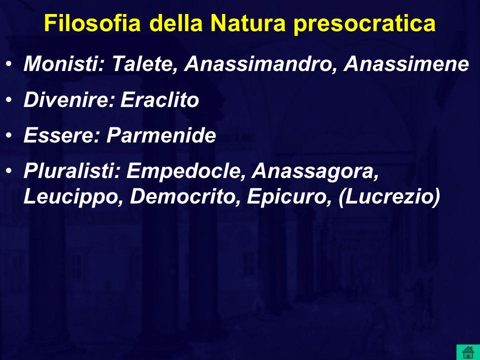 Filosofia della Natura presocratica