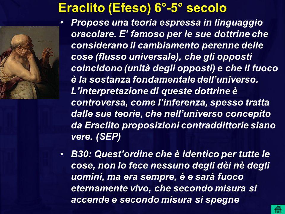 Eraclito (Efeso) 6°-5° secolo