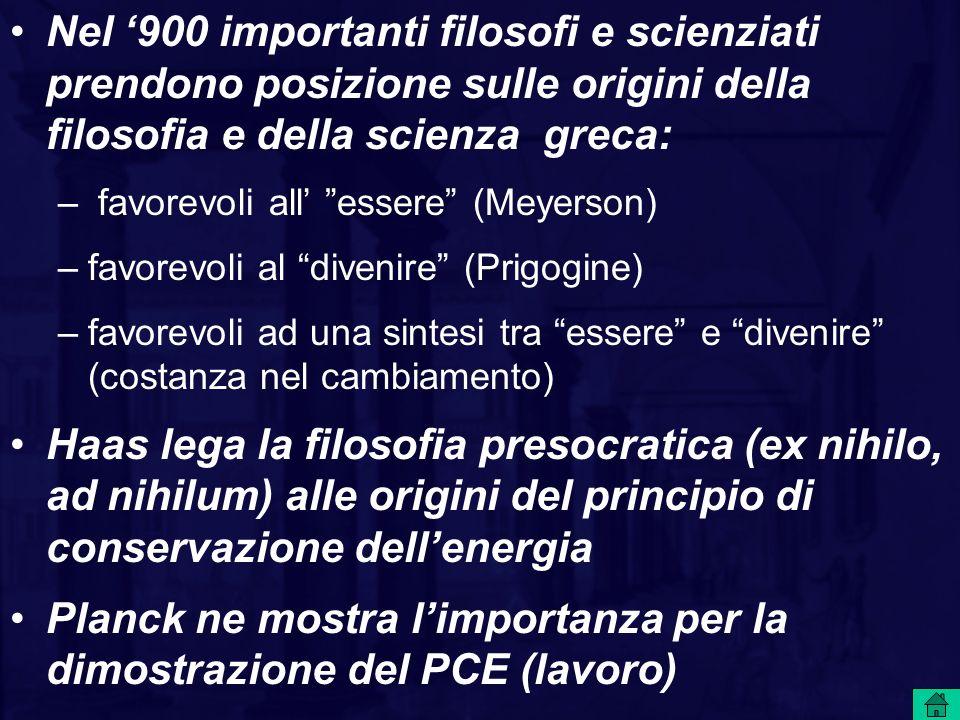 Planck ne mostra l'importanza per la dimostrazione del PCE (lavoro)