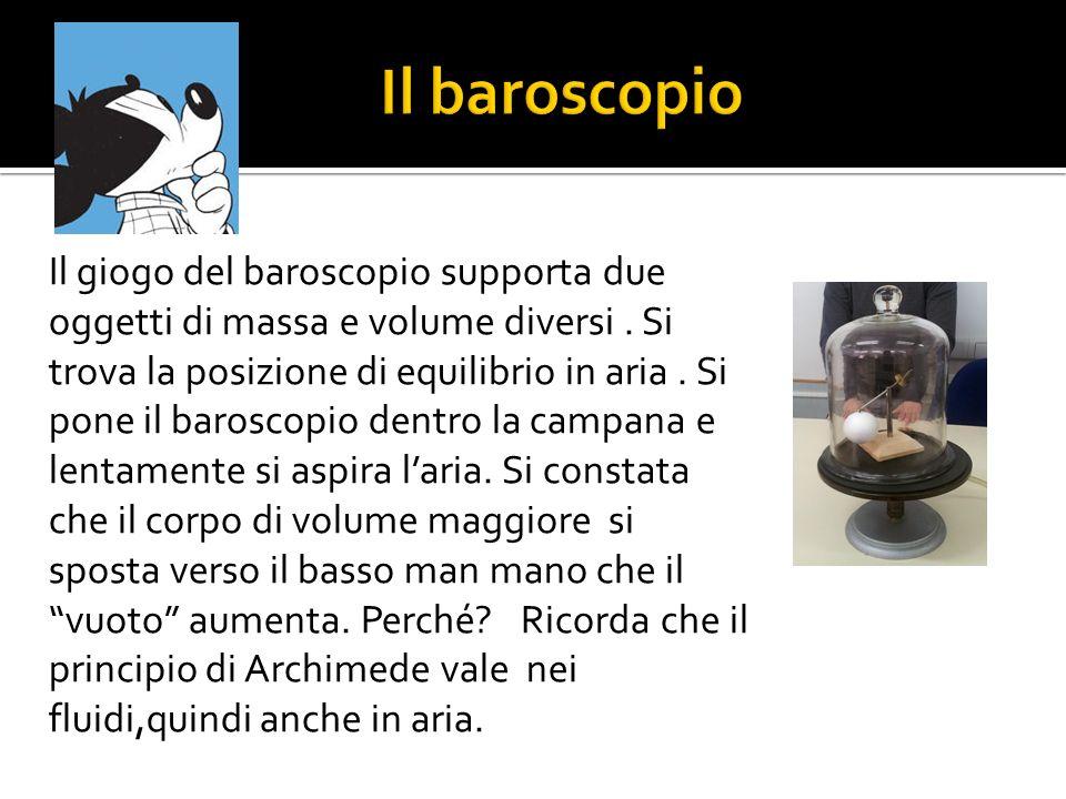 Il baroscopio