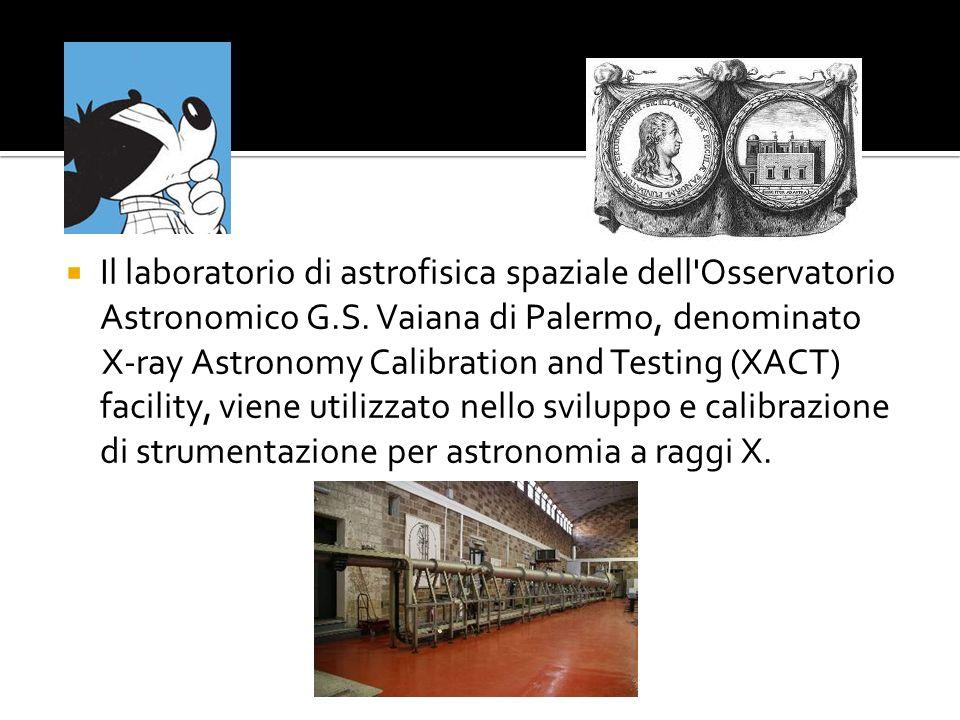 Il laboratorio di astrofisica spaziale dell Osservatorio Astronomico G