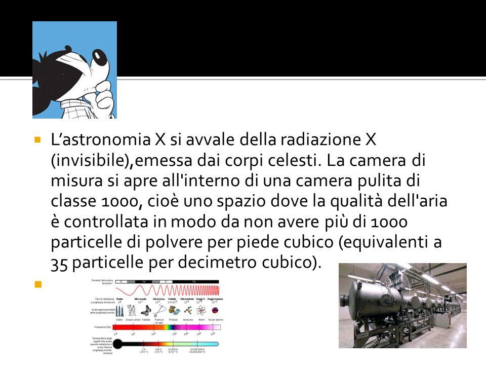 L'astronomia X si avvale della radiazione X (invisibile),emessa dai corpi celesti.
