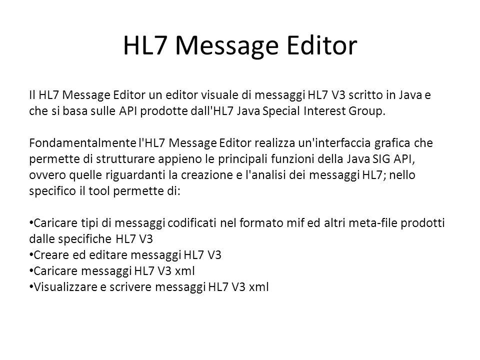 HL7 Message Editor
