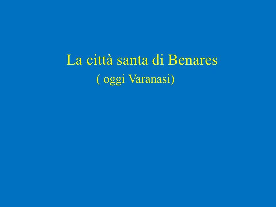 La città santa di Benares