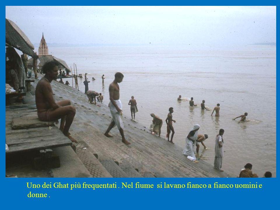 Uno dei Ghat più frequentati