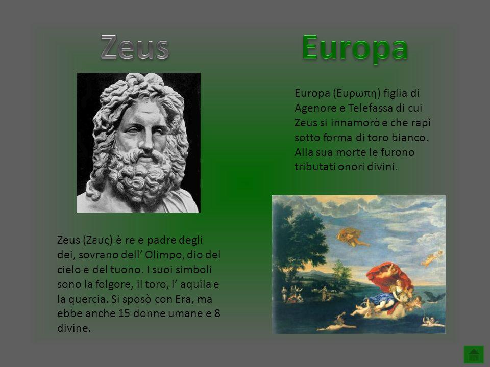 Zeus Europa.