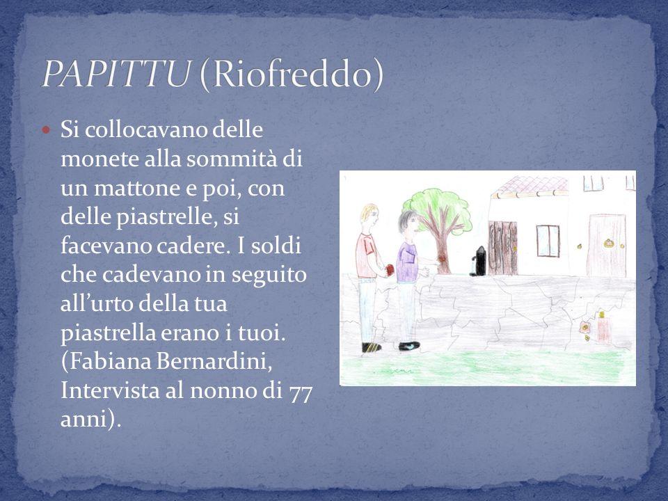 PAPITTU (Riofreddo)
