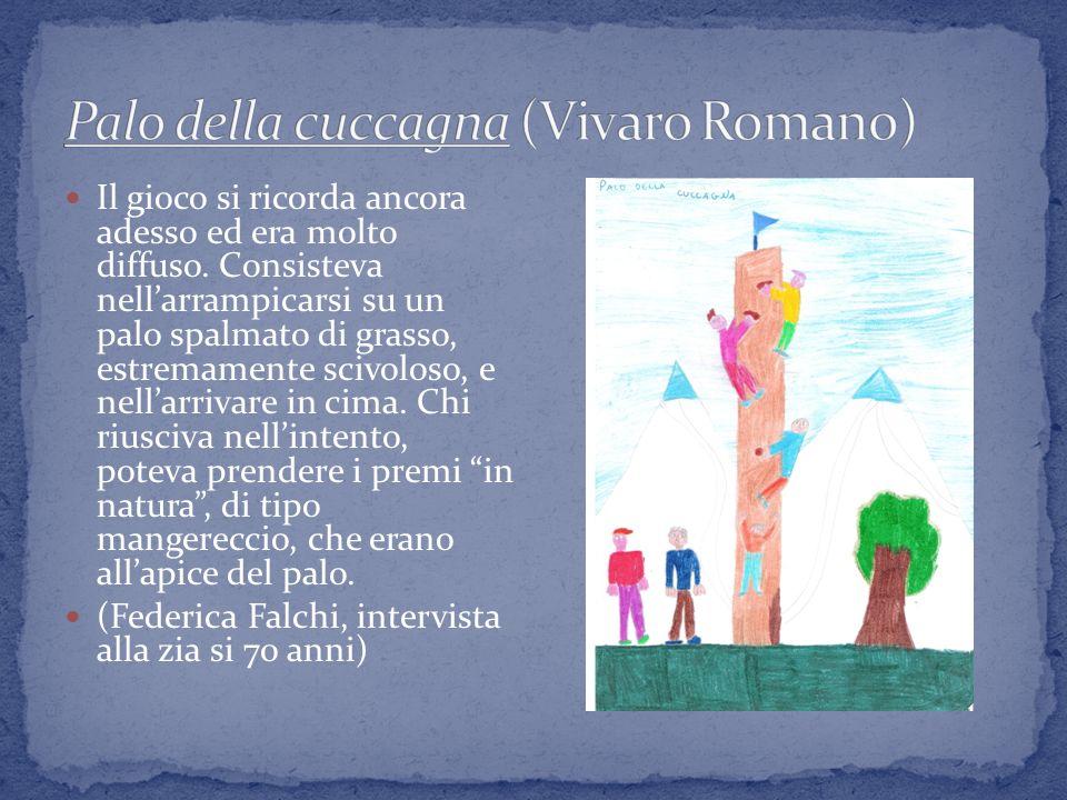 Palo della cuccagna (Vivaro Romano)