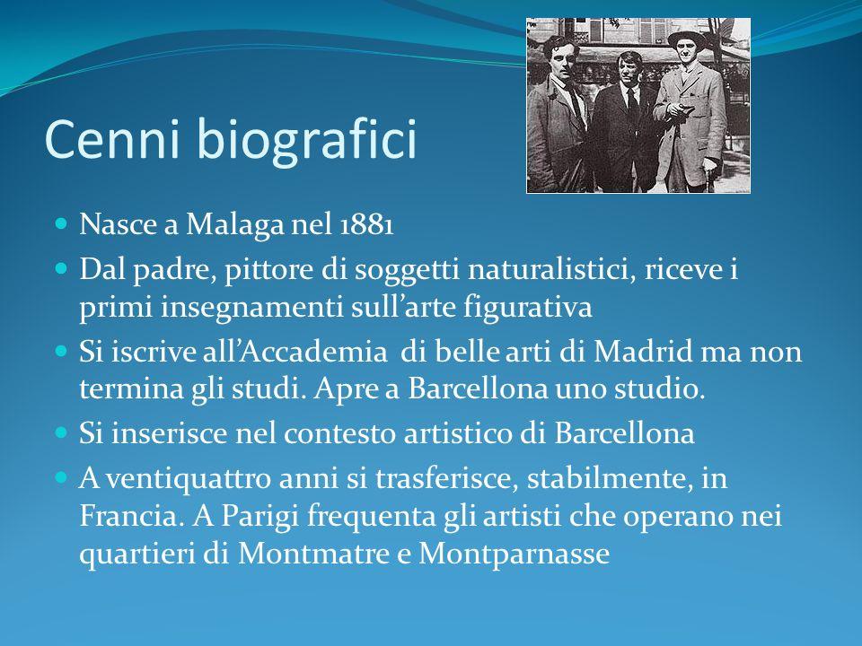 Cenni biografici Nasce a Malaga nel 1881