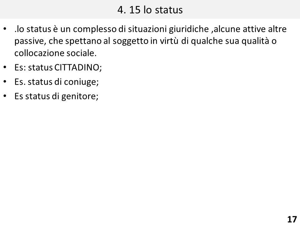4. 15 lo status