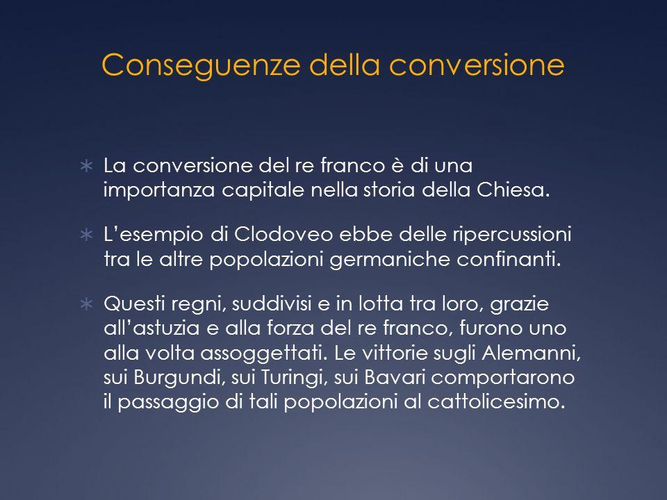 Conseguenze della conversione