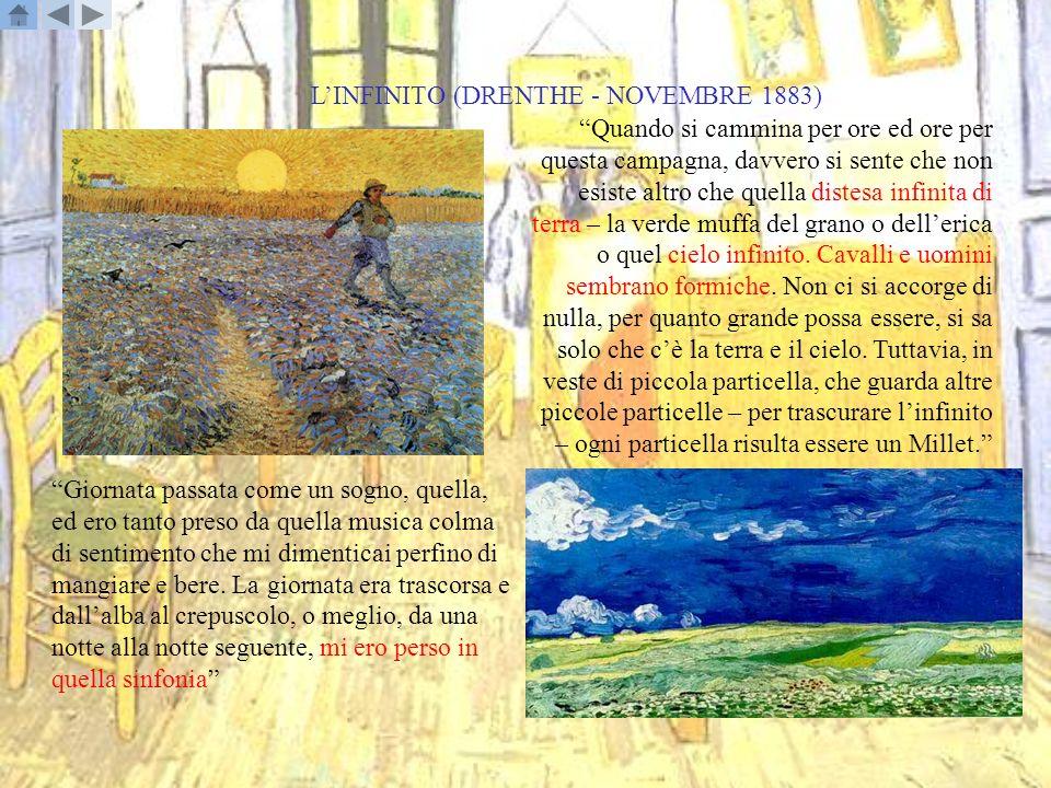 L'INFINITO (DRENTHE - NOVEMBRE 1883)