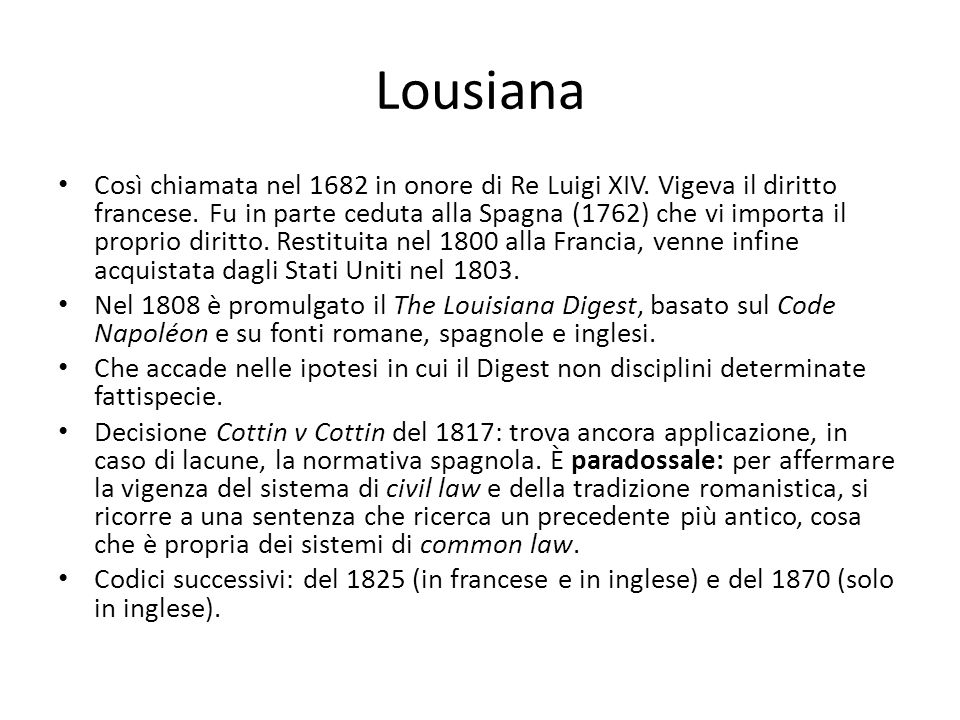 Lousiana