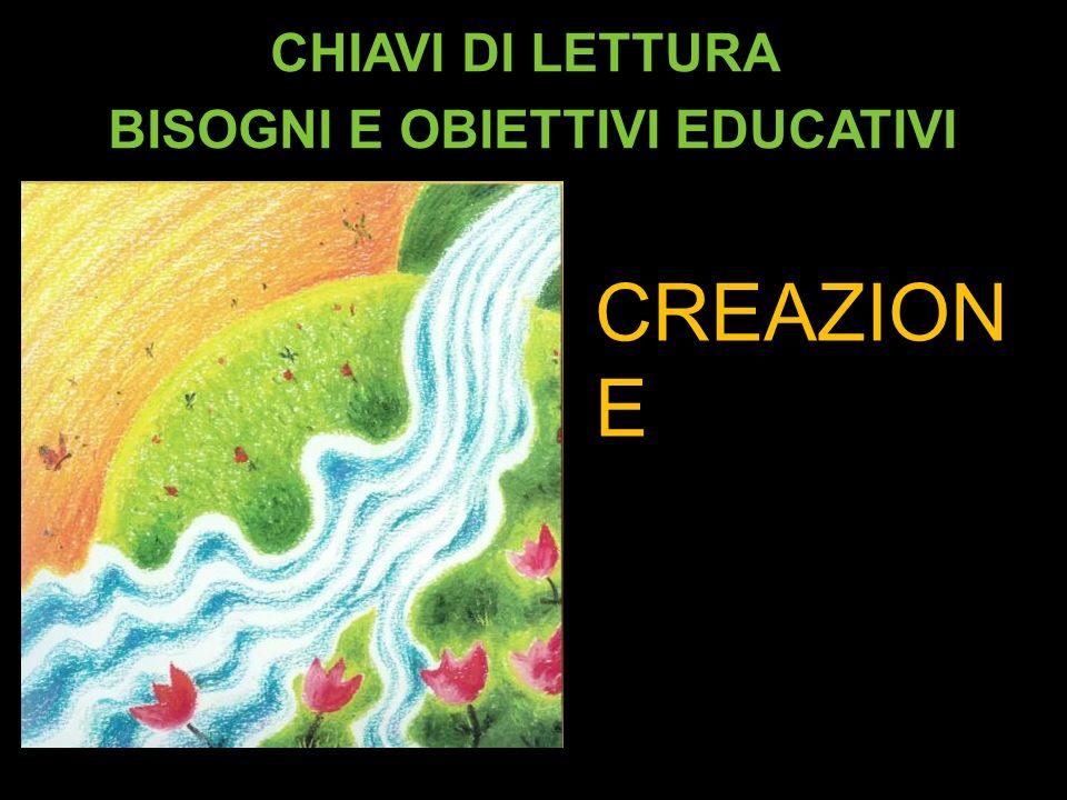 CHIAVI DI LETTURA BISOGNI E OBIETTIVI EDUCATIVI