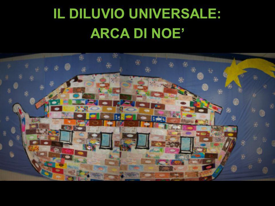 IL DILUVIO UNIVERSALE: ARCA DI NOE'