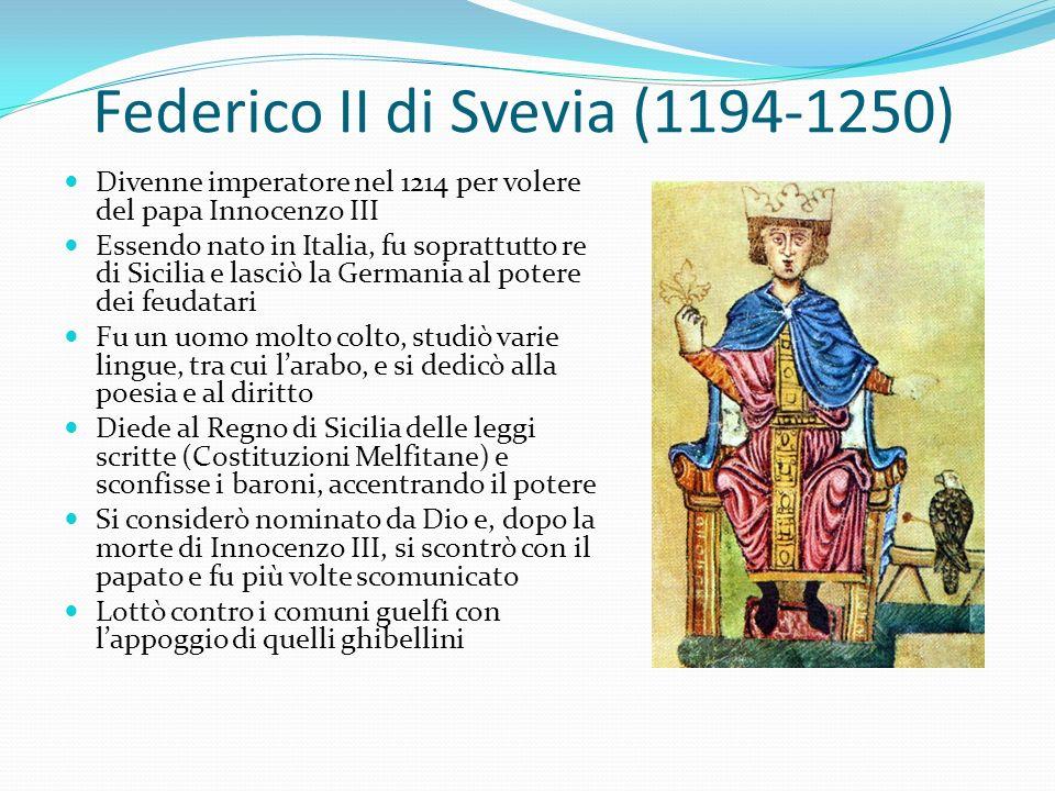 Federico II di Svevia (1194-1250)