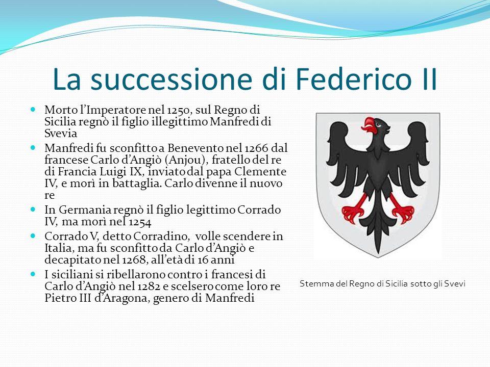 La successione di Federico II
