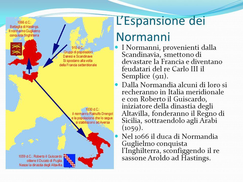 L'Espansione dei Normanni