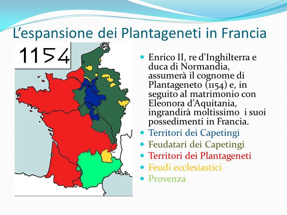 L'espansione dei Plantageneti in Francia