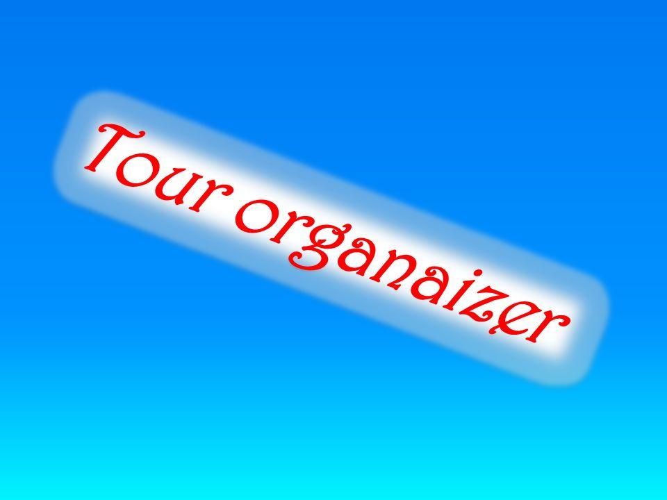 Tour organaizer