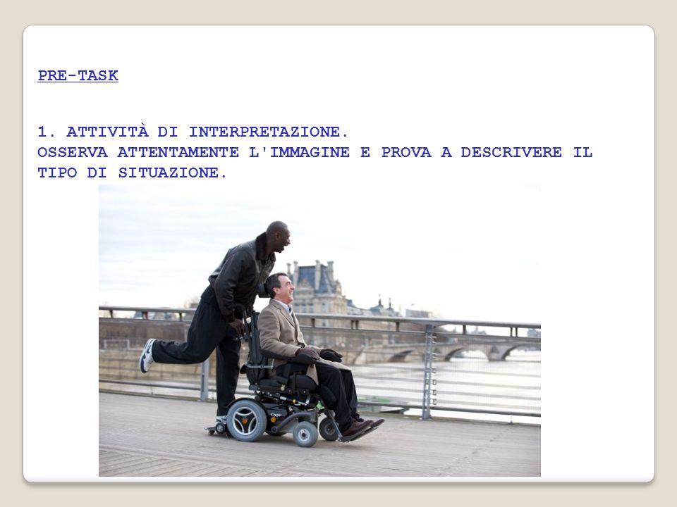 PRE-TASK 1. ATTIVITÀ DI INTERPRETAZIONE