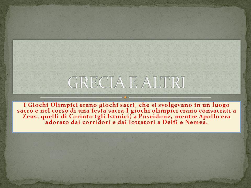 GRECIA E ALTRI