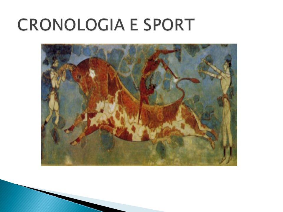 CRONOLOGIA E SPORT