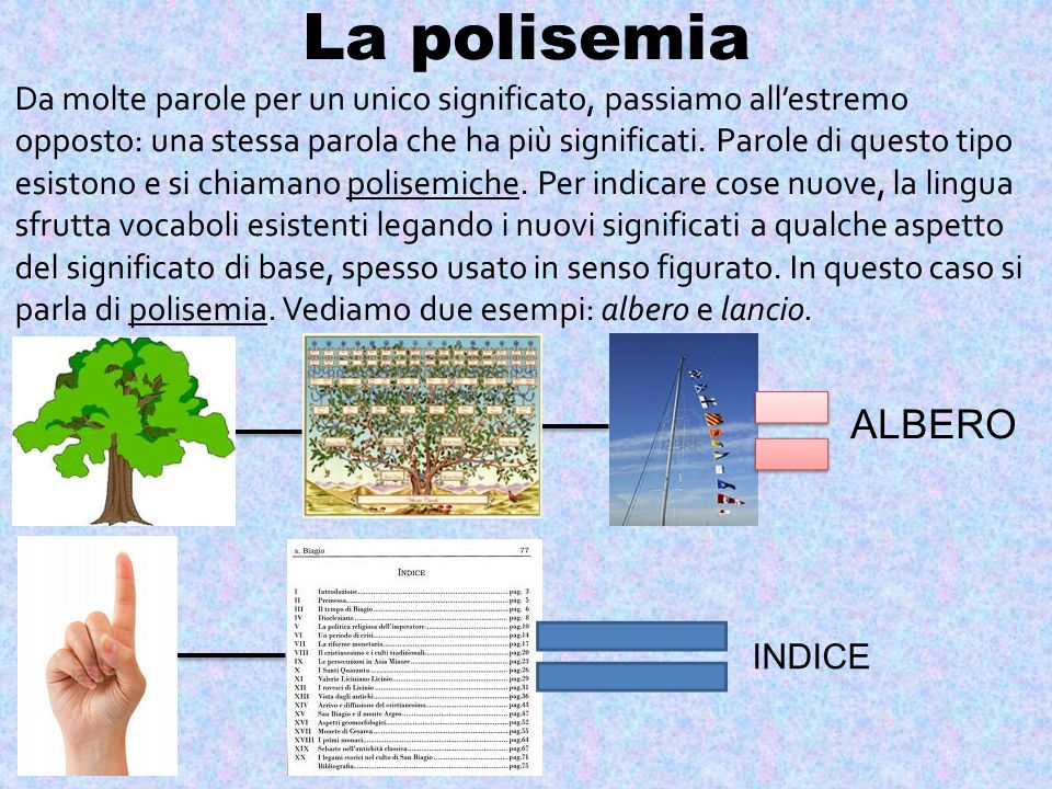 La polisemia