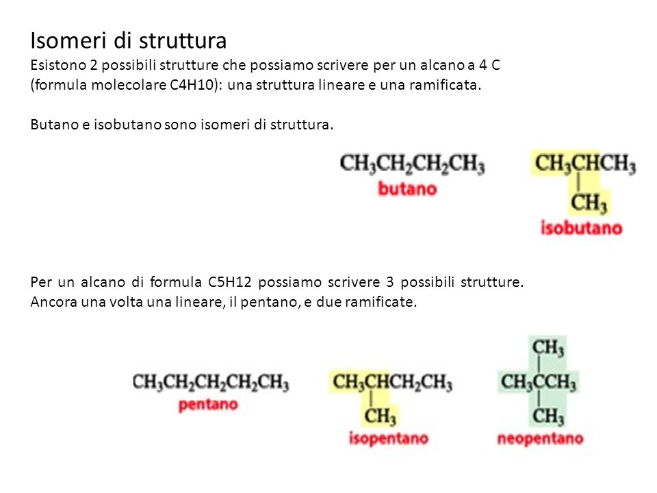 Isomeri di struttura