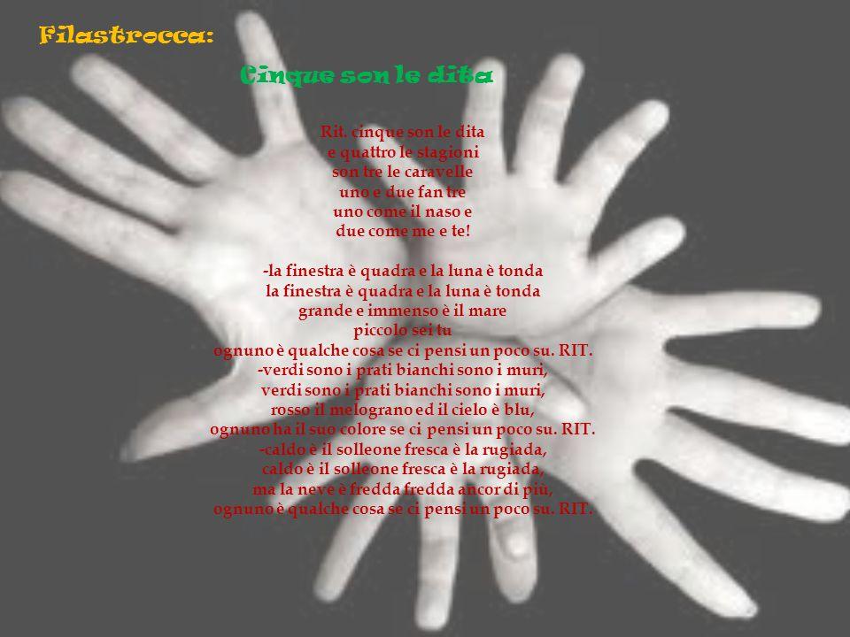 Filastrocca: Cinque son le dita