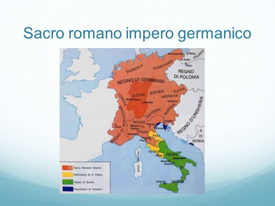 Sacro romano impero germanico