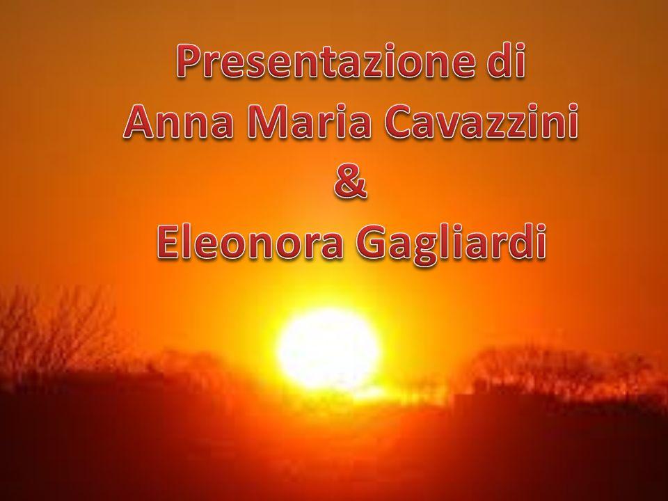 Presentazione di Anna Maria Cavazzini & Eleonora Gagliardi