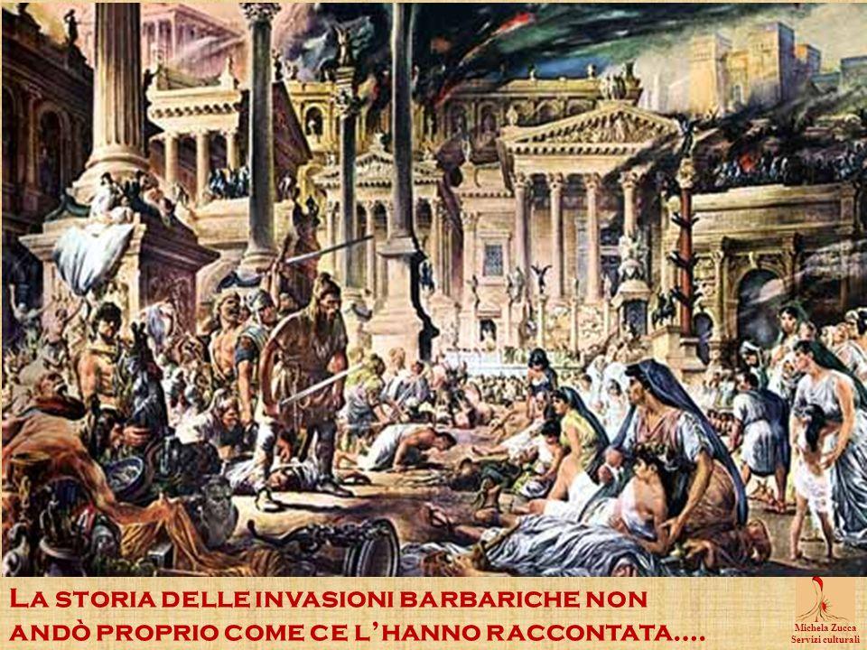 La storia delle invasioni barbariche non