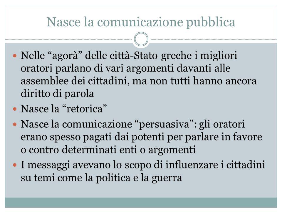 Nasce la comunicazione pubblica